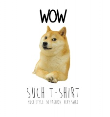 T-Shirt Doge Meme - Wow Such T-Shirt