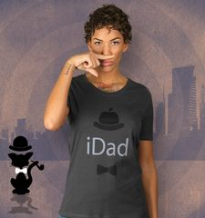 Damen T-Shirt iDad