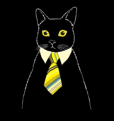 T-Shirt The Business Cat