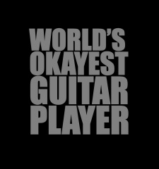 T-Shirt World's Okayest Guitar Player