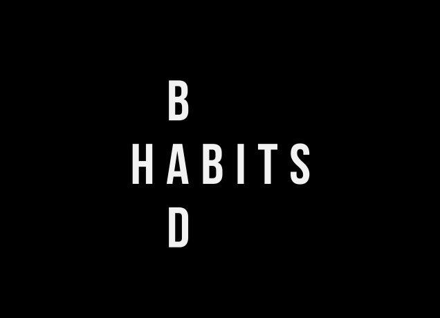 T-Shirt Bad Habits