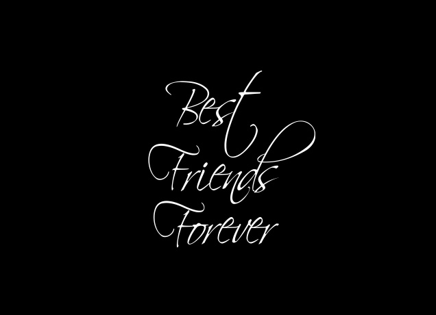 Design BFF Best Friends Forever Scripted