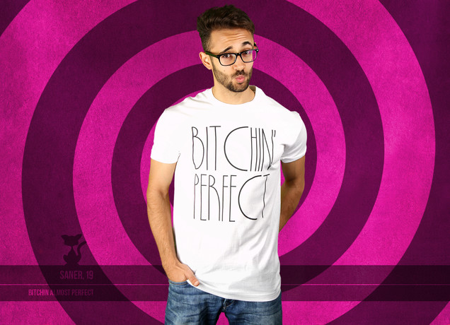 Herren T-Shirt Bitchin Perfect