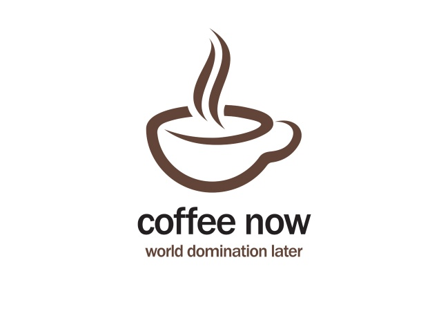 Design Coffee Now, World Domination Later