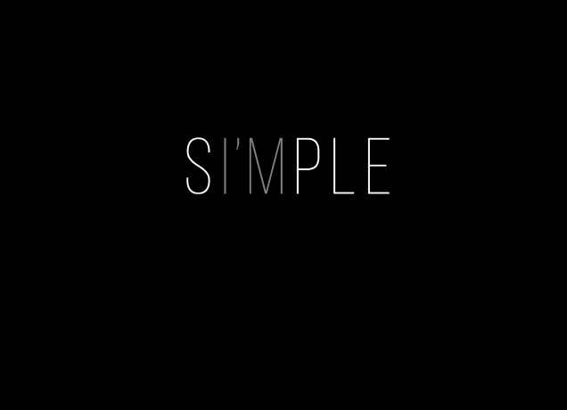 Design Einfach Simple
