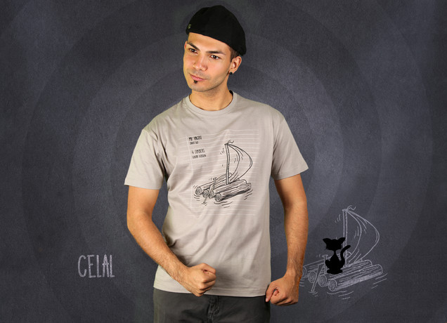 Herren T-Shirt Escape From Paradise