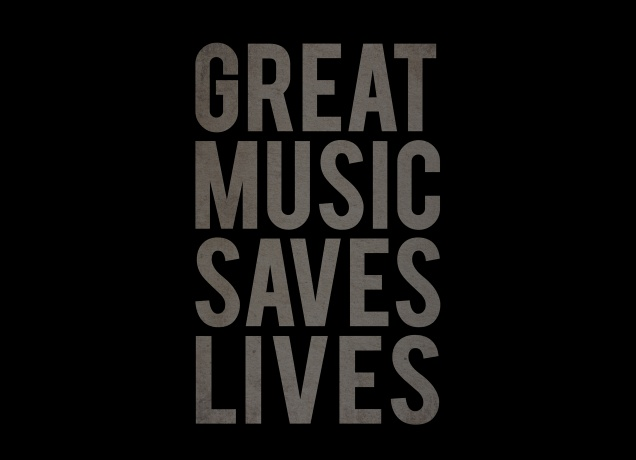 Design Great Music Saves Lives