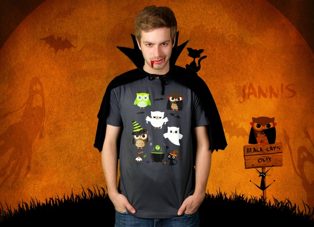 Halloween Owls T-Shirt