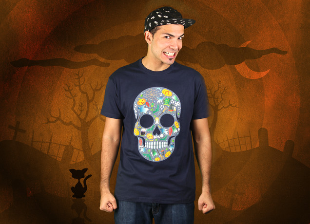 Halloween Scull T-Shirt