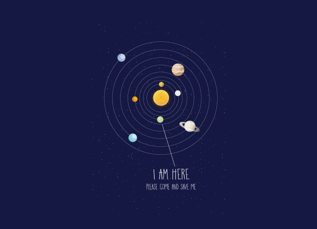 T-Shirt I Am Here