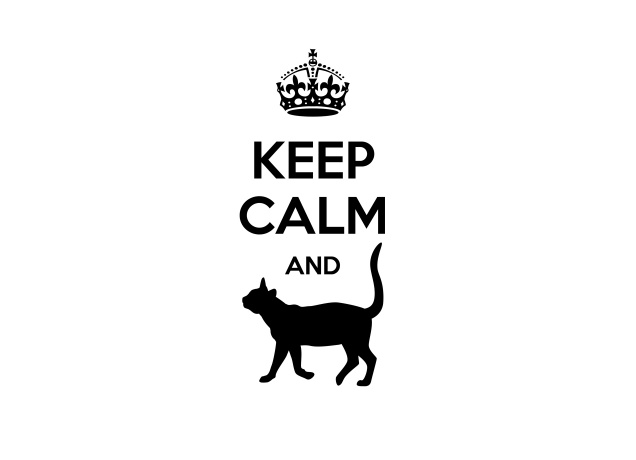 Design Keep Calm And Cat Arround
