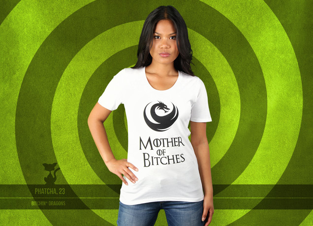 Damen T-Shirt Mother of Bitches