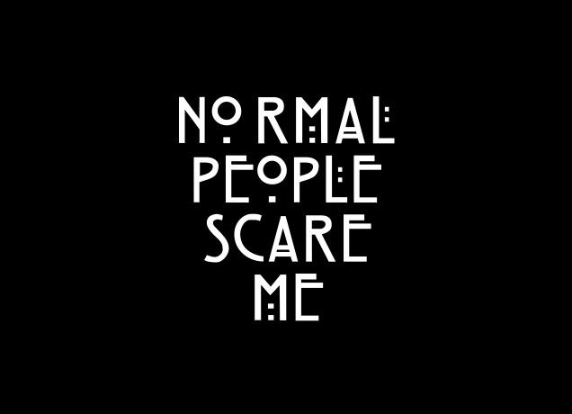 7225d624 Normal People Scare Me   Designer & Fun T-Shirts   Likoli