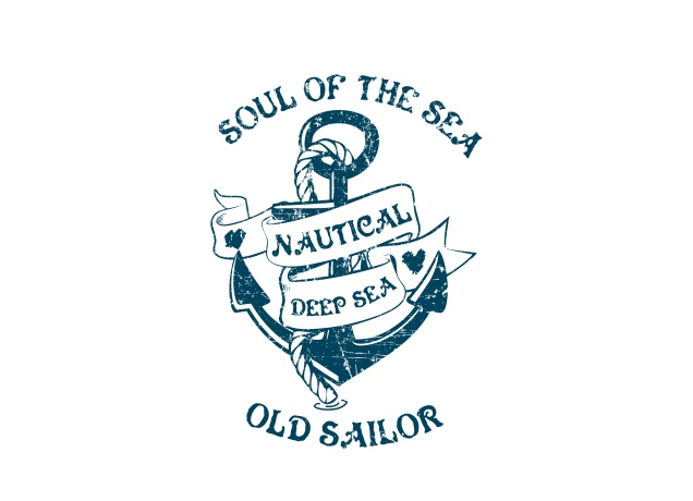 Design Old Sailors T Shirt
