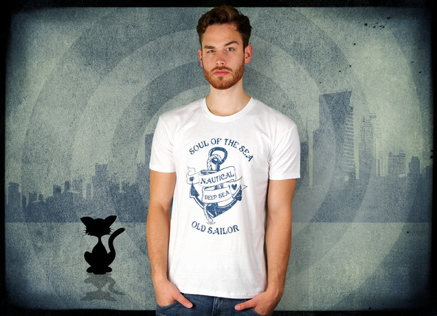 Herren T-Shirt Old Sailors T Shirt