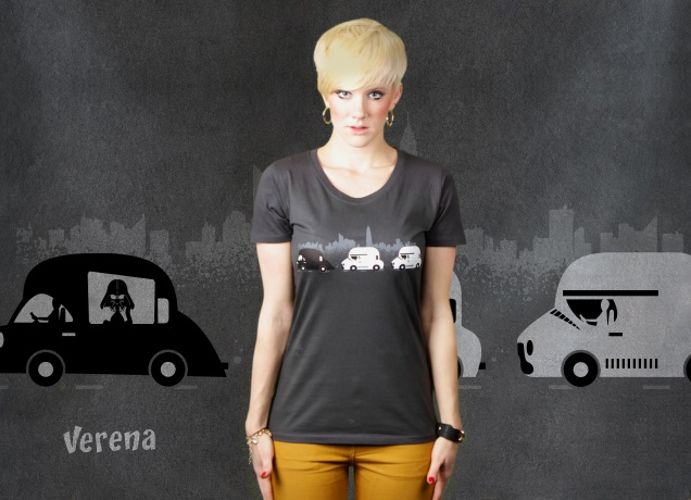 Damen T-Shirt On The Road