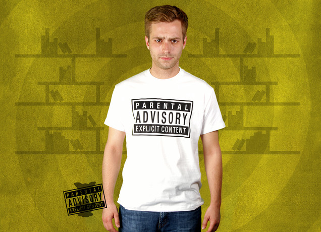 Herren T-Shirt Parental Advisory