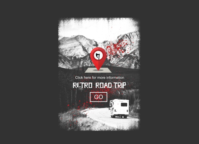 T-Shirt Retro Road Trip Advisor