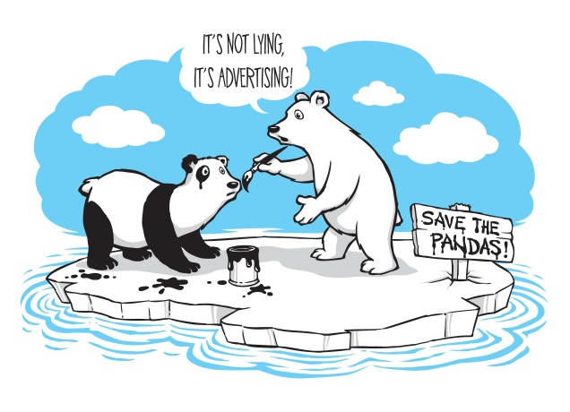 T-Shirt Save The Pandas