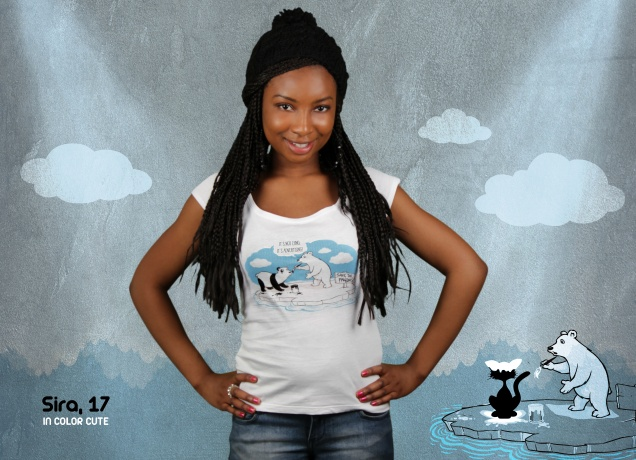 Damen T-Shirt Save The Pandas