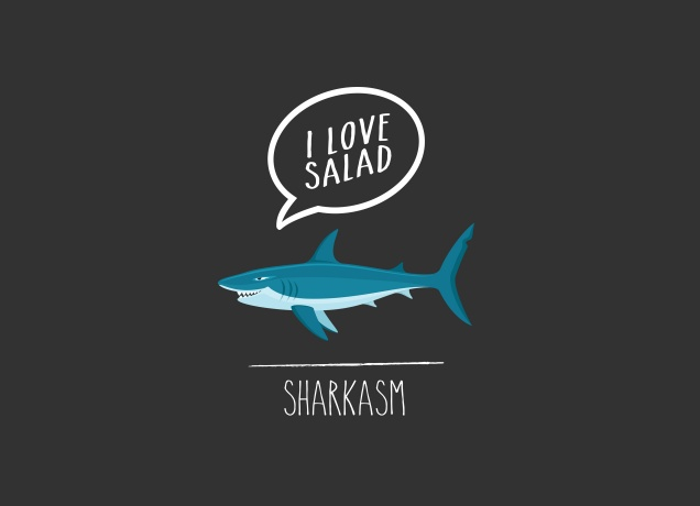 Design Some Vegan Sharkasm