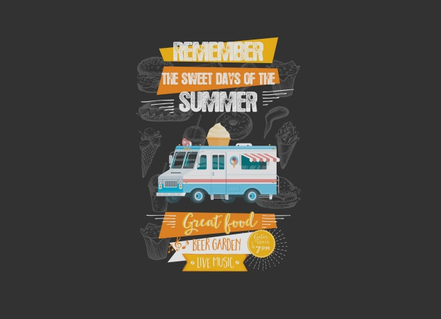 T-Shirt Sweet Days Of Summer