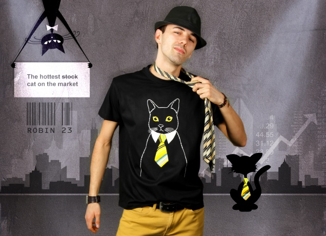 The Business Cat T-Shirt