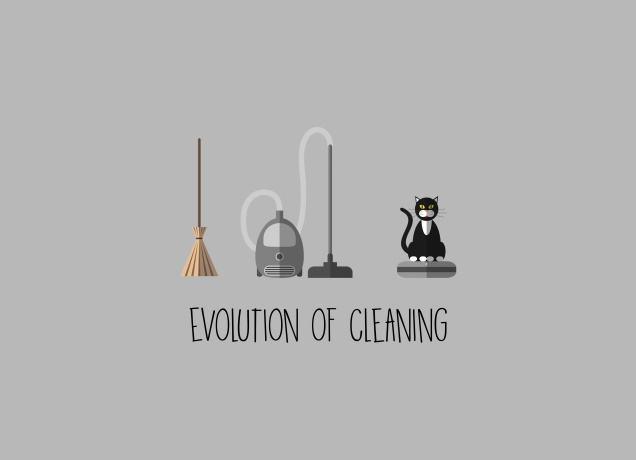 T-Shirt The Evolution Of Cleaning