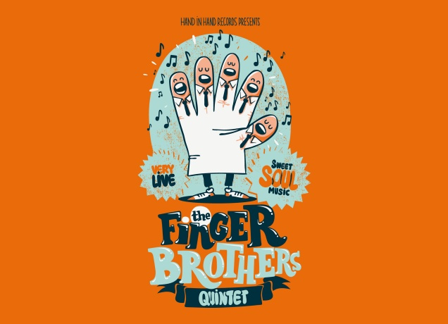 Design The Five Finger Brothers