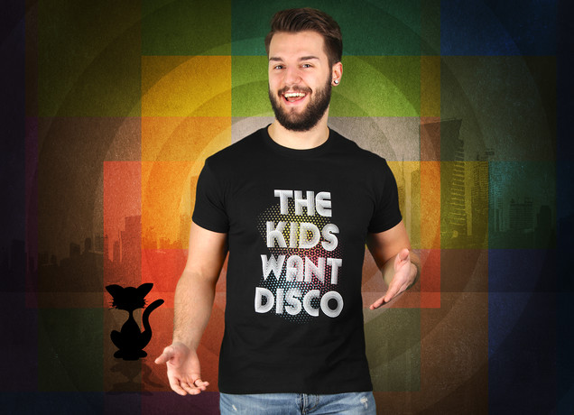 The Kids Want Disco T-Shirt