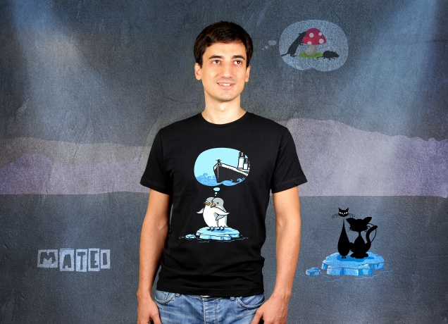 The Penguine Titanic T-Shirt