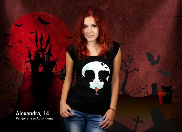 Damen T-Shirt The Vampyre Story