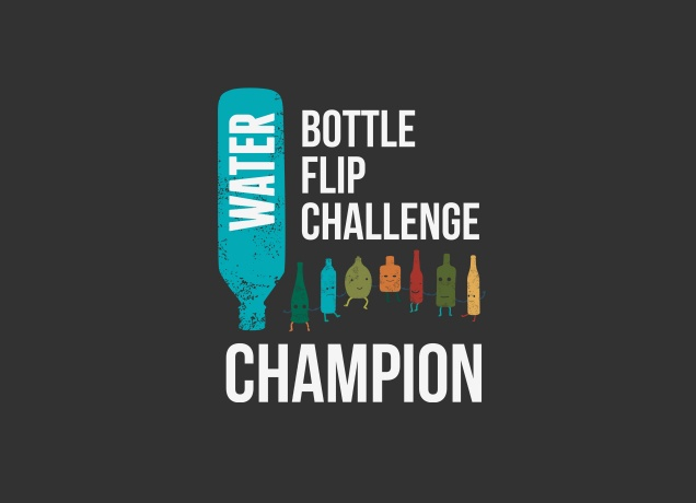 Design Water Bottle Flip Challenge