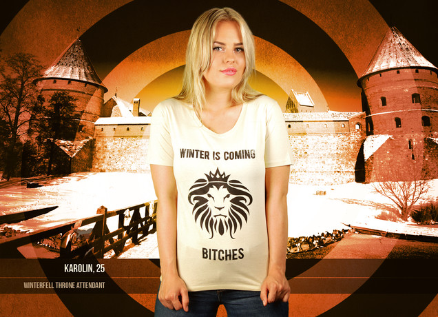 Damen T-Shirt Winter Is Coming