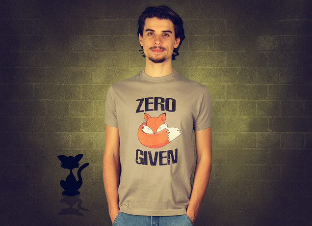 Herren T-Shirt Zero Fox Given